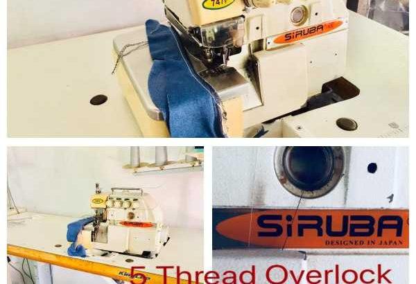 5 thread overlock