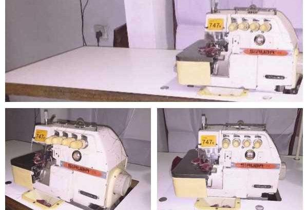 Siruba 4 thread machine
