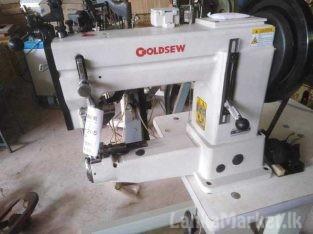 Slipper outsole sewing machine