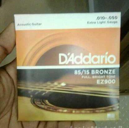 D'addario acoustic guitar string sets