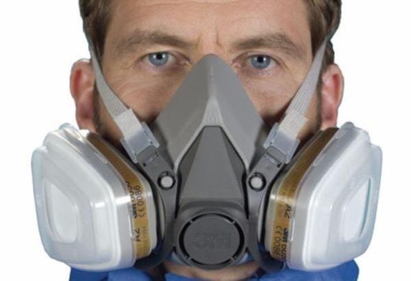3M Organic , Hydrogen , Acidic , Ammonia Gas Respirator / Dust Respirator for sale