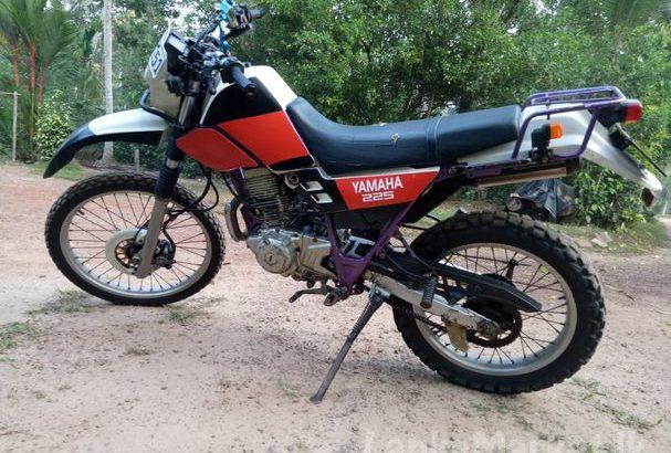 Yamaha Serow 225cc Original Registered motorbike for sale
