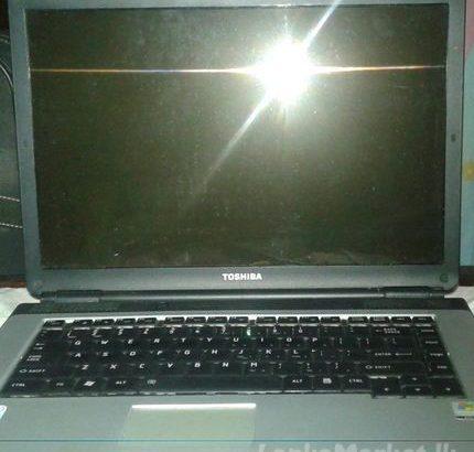 Toshiba Broken laptop