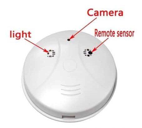 Smoke Motion Detection SPY Hidden Video Camera for Sale