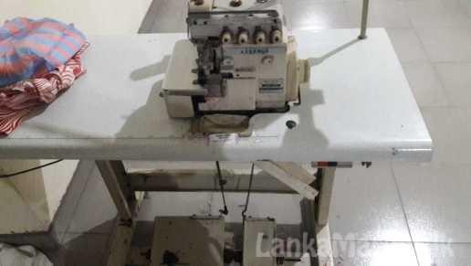 Juki four thread overlock machine