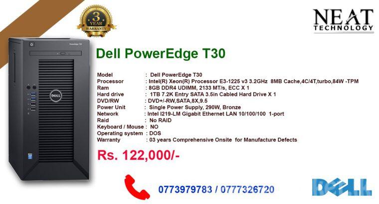 Dell PowerEdge T30 , Server
