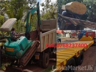 JCB Excavator and Heavy Equipment Transport