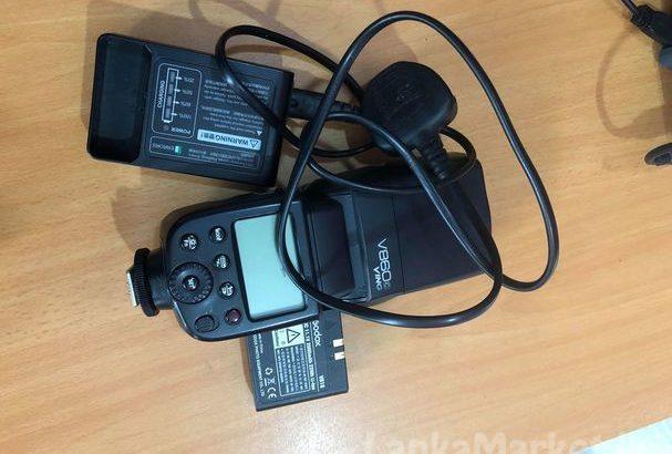 Godox speed light V860c TTL & trigger for sale