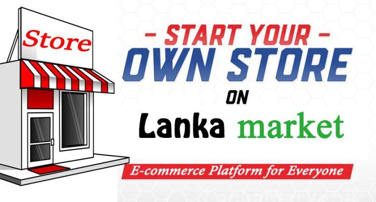 Start Your Own Store on Lanka Market