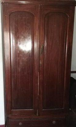 Almirah two door teak for sale