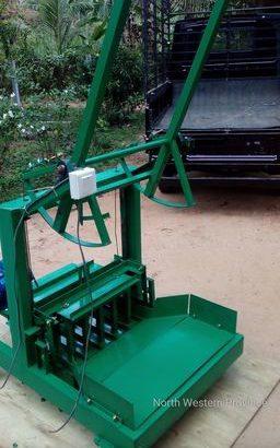 cement block gal machine for sale