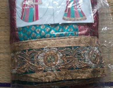 Indian Lehenga Material