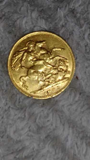 Rare 1909 King Edward vl collectible gold sovergine