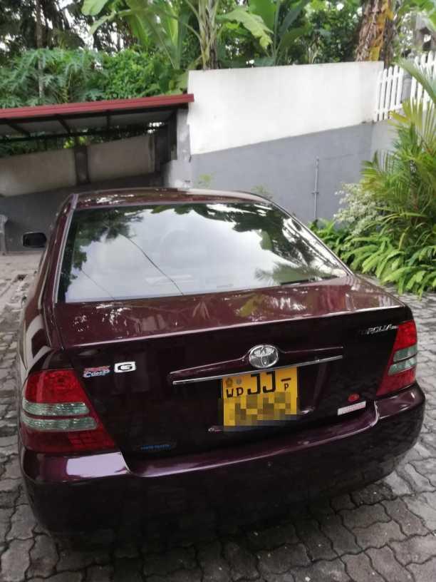 Toyota corolla G limited luexel anniversary model
