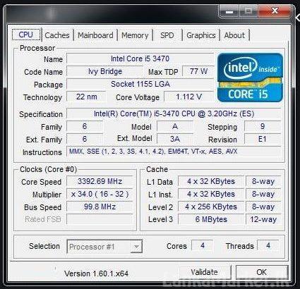 Intel core i5 3470 (3rd gen processors) for sale