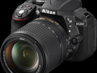 DSLR NIkon Camera with Full Set