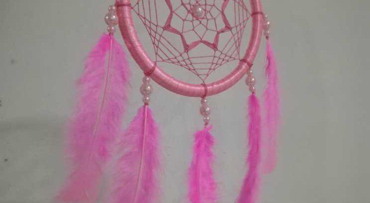Dream Catcher Pink color