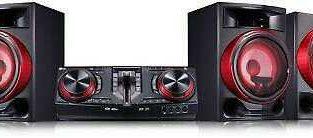 LG CJ88 XBOOM Audio System with Karaoke Creator