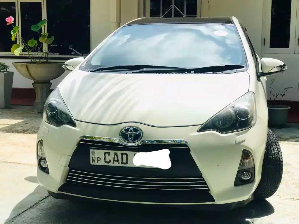 Toyota Aqua G limited