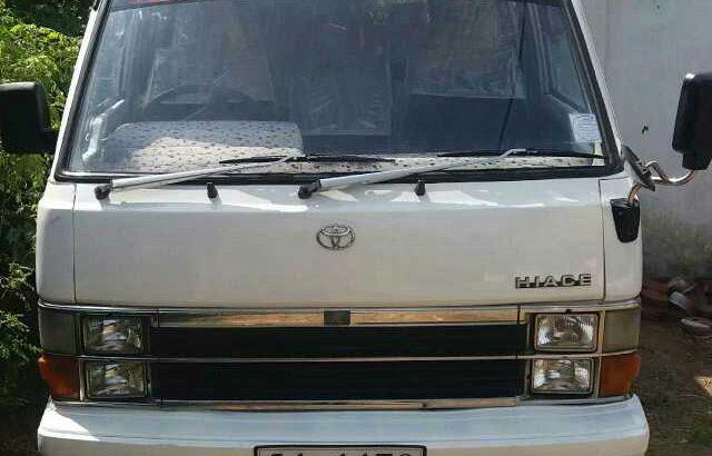 Toyota hiace shell model 1989