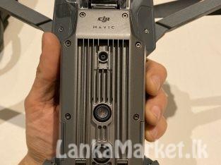 DJI Mavic Pro 4k drone Quadricoptere Gray