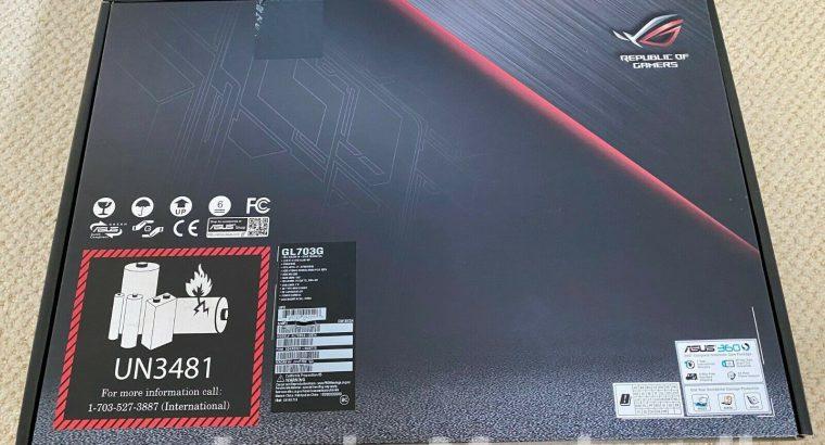 ASUS RoG STRIX SCAR Edition GL703G Gaming Laptop