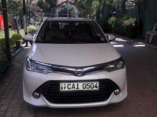 Toyota axio 2015 g grade