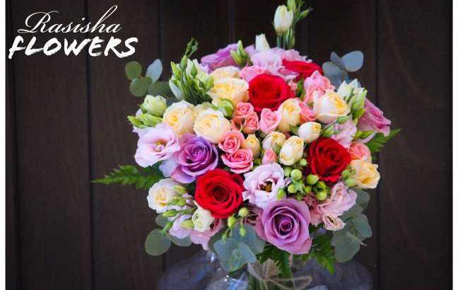 Fresh Purple flower boquet only 2000 Rs