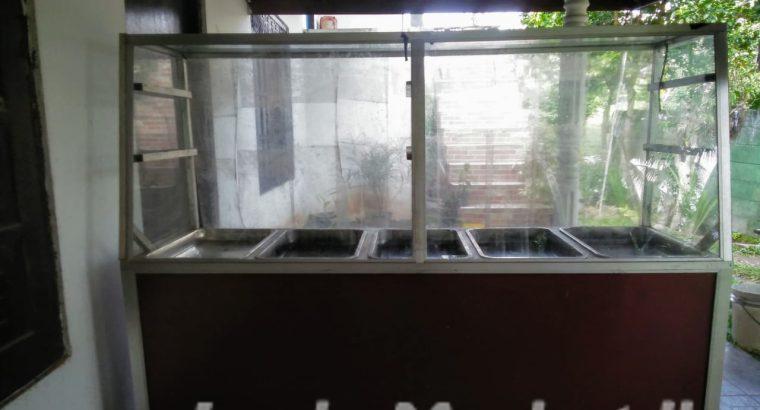 Benmari food showcase for sale