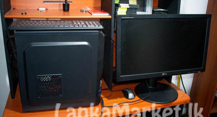 Intel Core i7 4790 3.8 GHz 6GB RAM