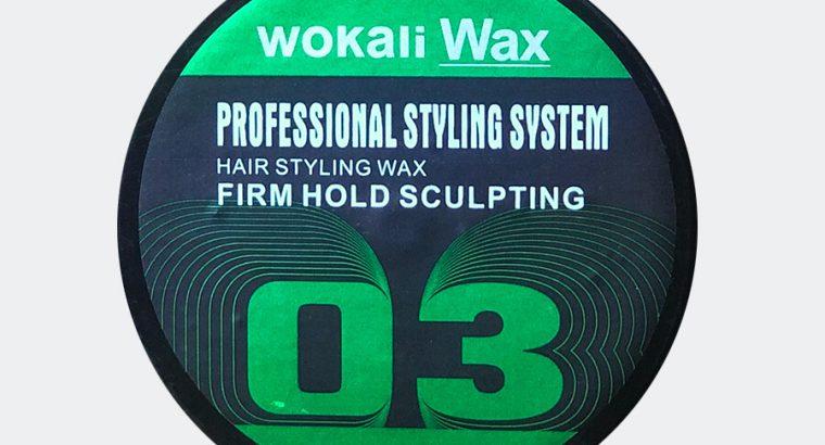 Wokali Professional Hair Styling Wax (150 g)