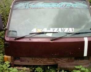 Izuzu Crew Cab Face & Cabin