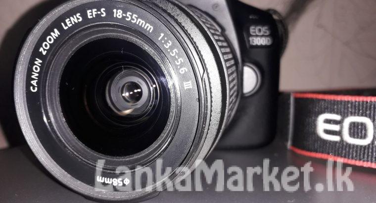 CANON EOS 1300D DSLR Camera