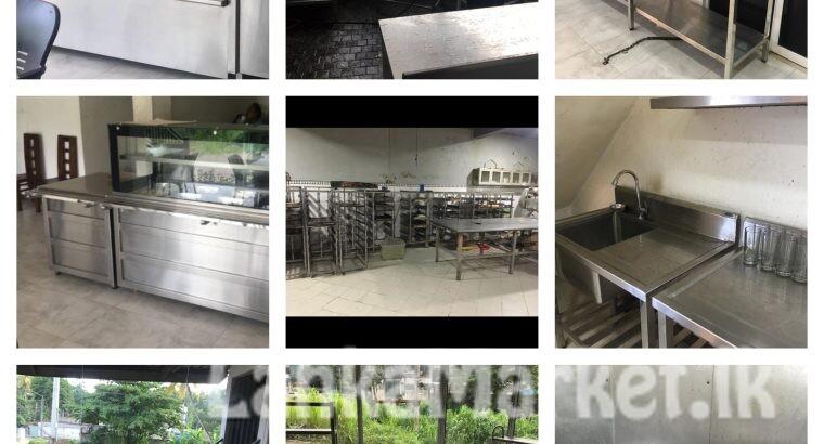 Bakery outlets, kitchen & restaurant equipment for sale