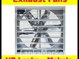 Wall Exhaust fans fans sale srilanka, Belt driven shutter fans, high volume fans srilanka,wall exhaust fans srilanka