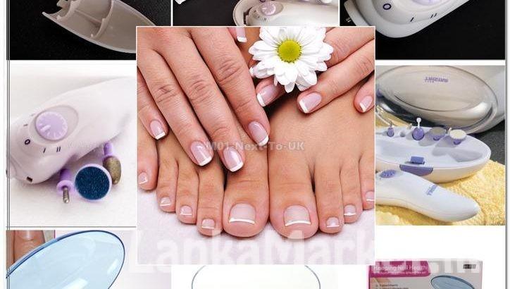 Bi-Rotation Manicure & Pedicure Set KEMEI Nail Care AE – 831