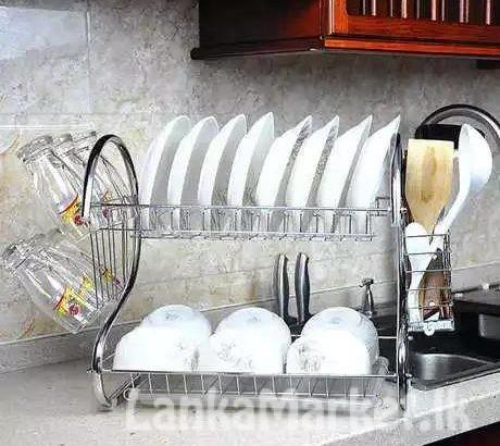 2 Layer Dish Rack / 2 Layer Dish Drainer Rack