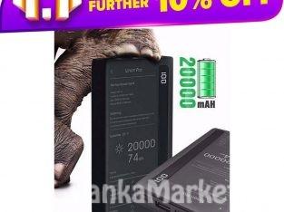 Remax Linon Pro Power Bank 20000mAh / Remax Linon Pro RPP-73 20000mAh 2 USB Output & 2 Inputs & Lighting Power Bank