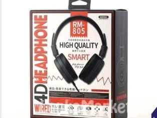 Headset / Headphone / Wired Headset Music over-ear Headphone / Remax Rm-805 Wired Headset Music over-ear Headphone