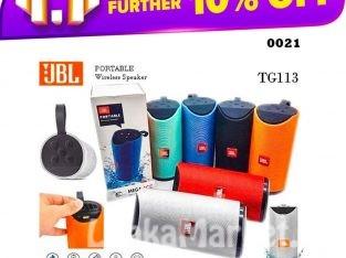 JBL Portable Wireless Speaker – JBL Bluetooth Speaker – JBL Bluetooth Wireless Speaker / JBL TG113 Wireless Bluetooth Portable Speakers