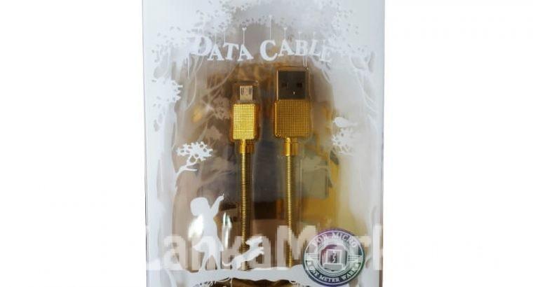 Micro Data Cable / WK Micro Data Cable / WK Gemstone Micro Data Cable