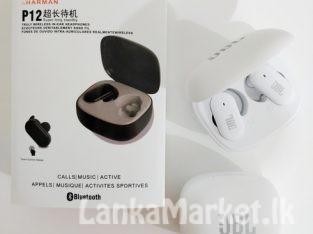 P12 Wireless Headset Earphones Earbuds / P12 Wireless Earbuds / P12 Wireless Airpods