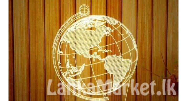 LED Table Lamp / 3D LED Night Lamp