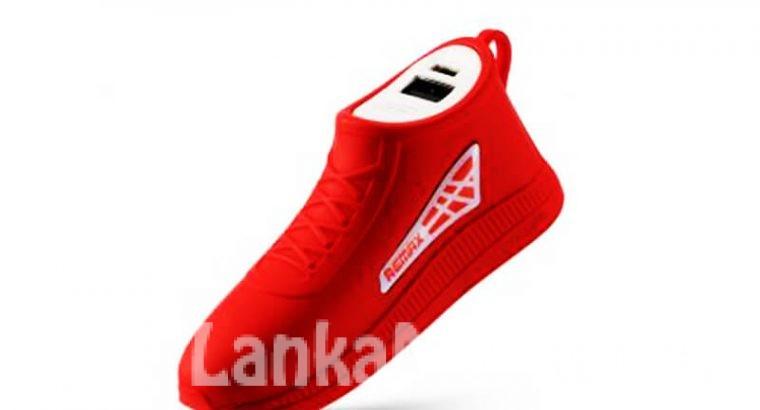 Power Bank 2,500mAh / Power Bank Shoe Model / Remax Running Shoe Power Bank 2500mAh