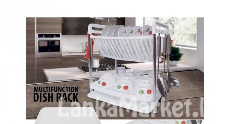Multi function Dish Rack (Kitchen Rack)