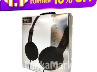 Lelisu Wired headphone with mic/ LELISU LS-803 WIRED HEADPHONE WITH MIC