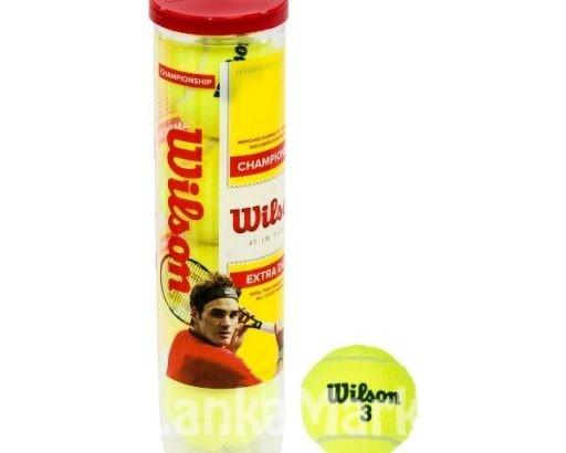 Tennis Ball / Wilson Championship Tennis Ball / Tennis Ball / Wilson Tennis Ball tin- (3 Balls / 2Pcs)