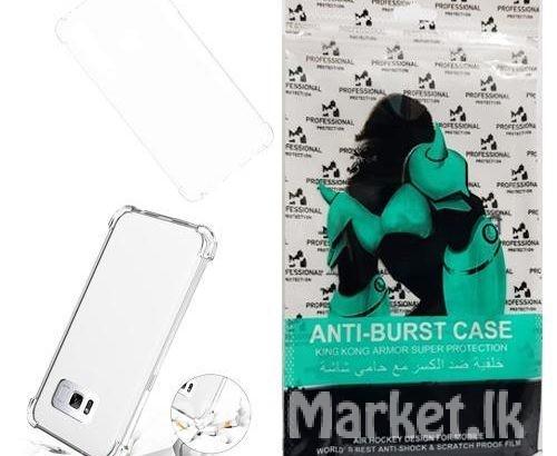 Samsung A10 Anti Burst Back Cover / Anti Burst Back Case / Clear Back Cover