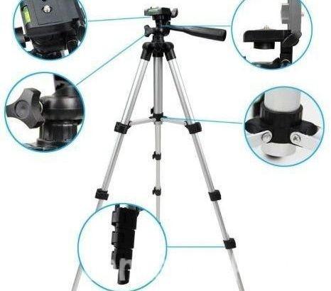 Tripod 330A – Camera Stand & Phone Stand & Holder
