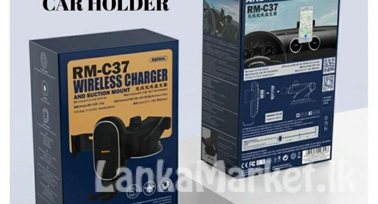 Wireless Car Holder / Car Holder / Remax Car Holder
